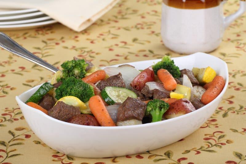 Rindfleisch-Eintopfgericht lizenzfreie stockbilder