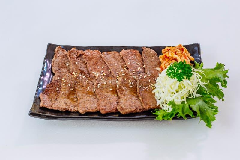 Rindfleisch gebratenes Fleisch lizenzfreie stockfotos