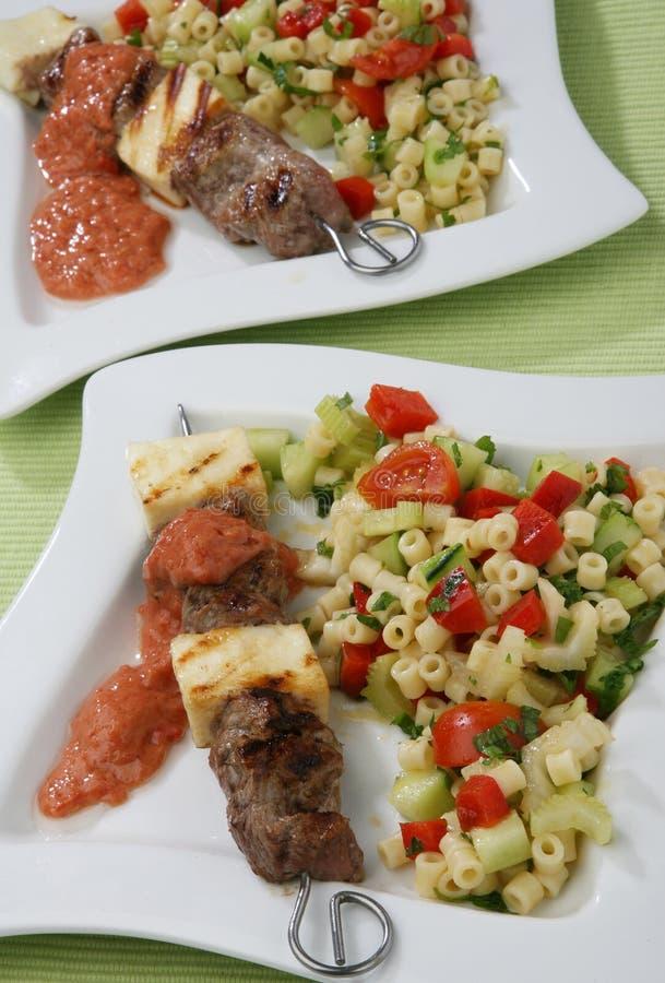 Rindfleisch gegrillt und Käse lizenzfreies stockbild