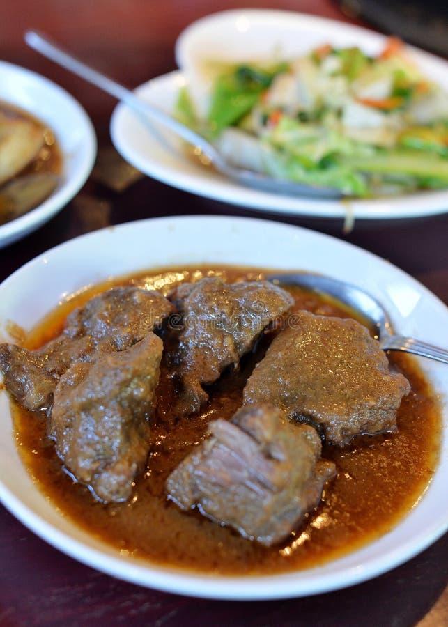 Rindfleisch Massaman-Curry stockfotografie
