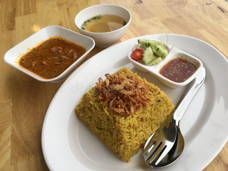 Rindfleisch mussaman Curry stockfotos