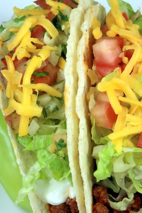 Rindfleisch Tacos schließen oben stockfotos