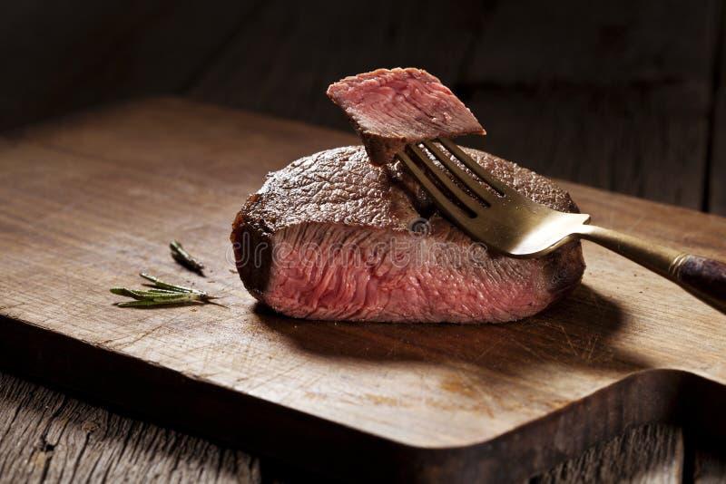 Rindfleischsteak stockbild
