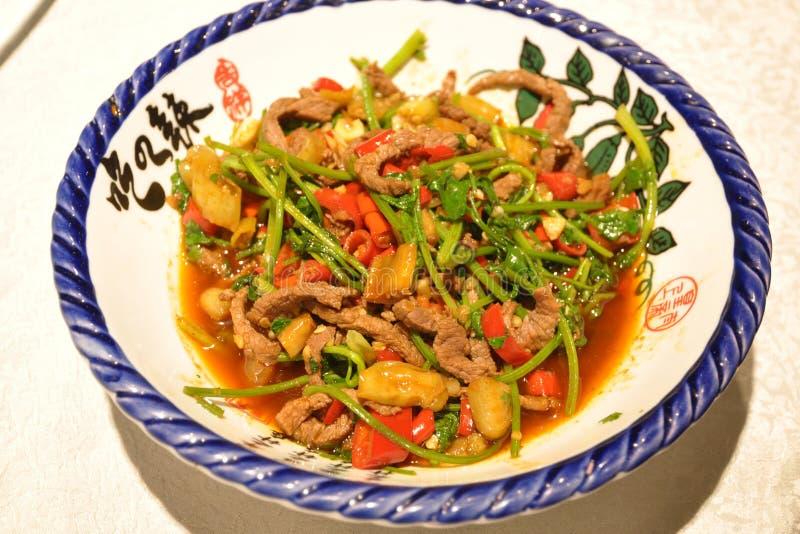 Rindfleischteller Huang stockbild