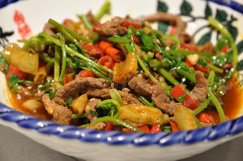 Rindfleischteller Huang stockfotos