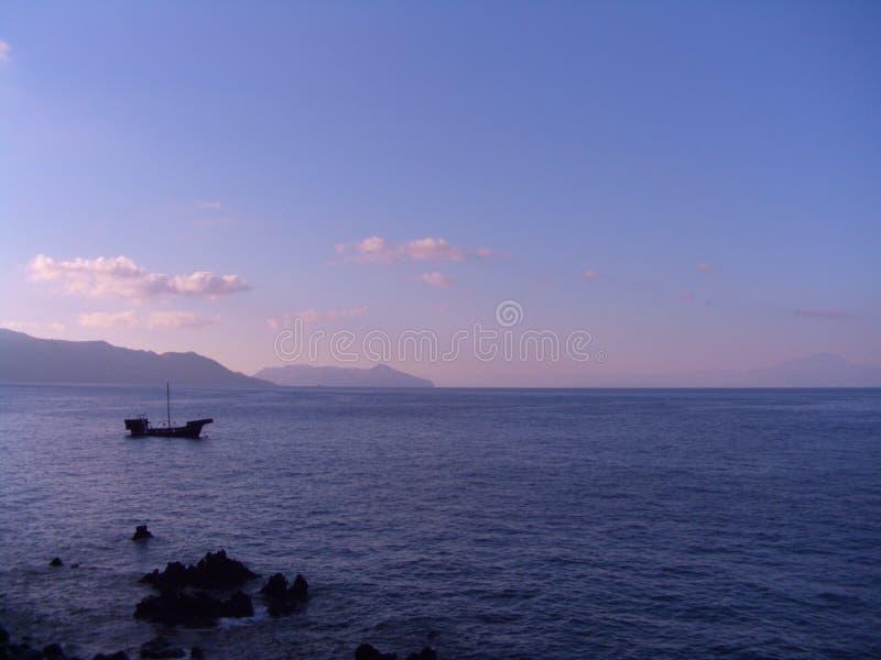 rinella wschód słońca zdjęcia stock