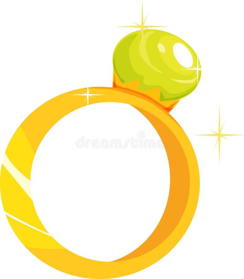 Ring stock illustratie