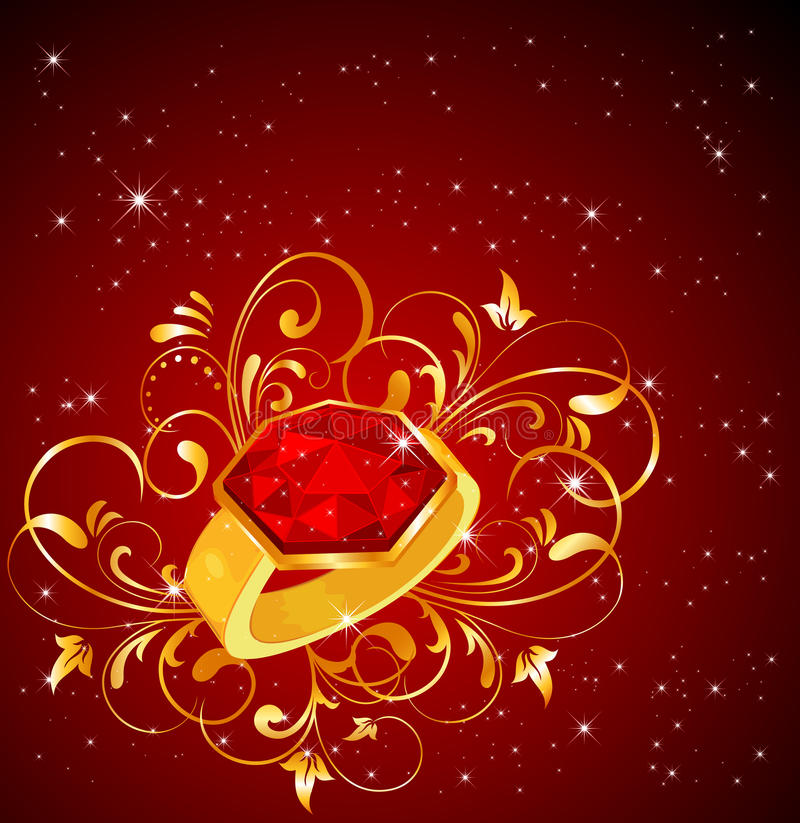 Download Ring stock vector. Image of adornment, elegance, decoration - 22553040