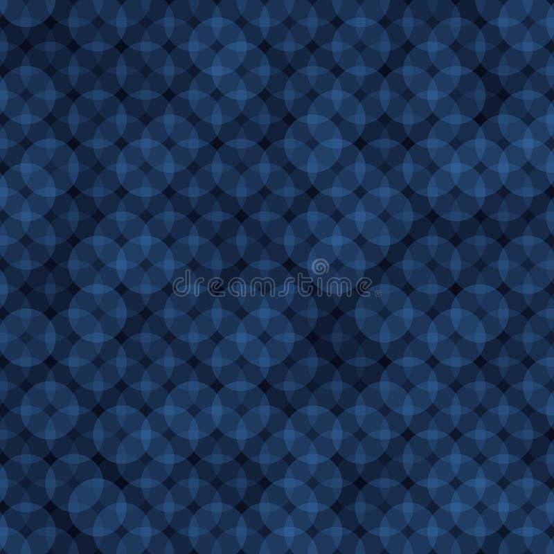 Ring Abstract Background bleu-foncé Vecteur illustration stock