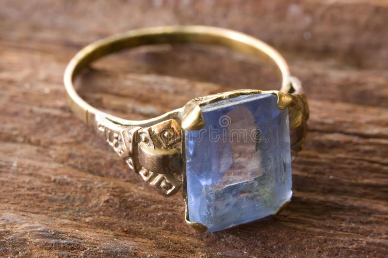 Download Ring with aquamarine stock photo. Image of opportunity - 13141294