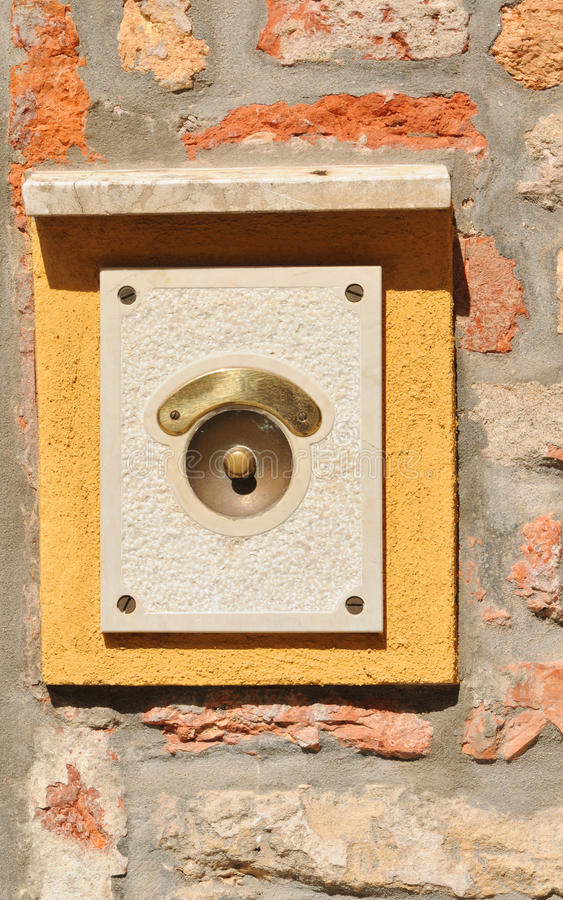 Download Ring bell stock photo. Image of sign, entry, ancient - 24847062