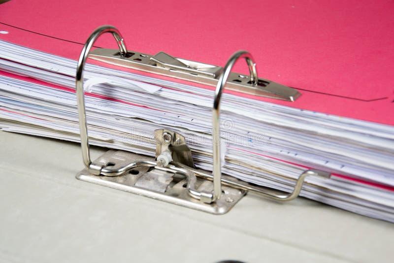 Ring binder royalty free stock images