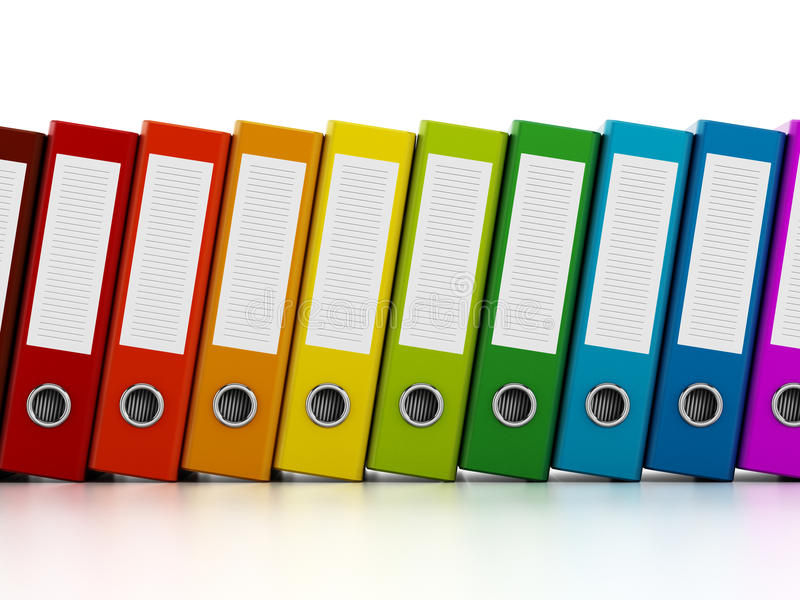 Ring Binders photographie stock