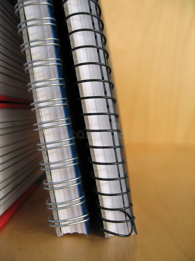 Ring Binders stock photography
