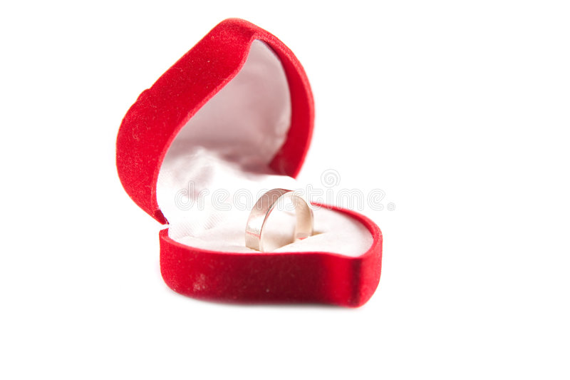Ring Box Royalty Free Stock Photo