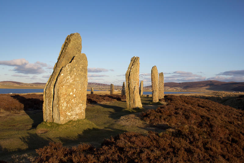 Ring Of Brodgar Royalty Free Stock Images