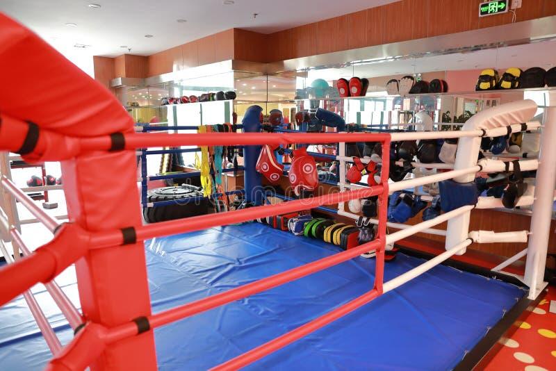 Ring de boxeo en el grm fotografía de archivo