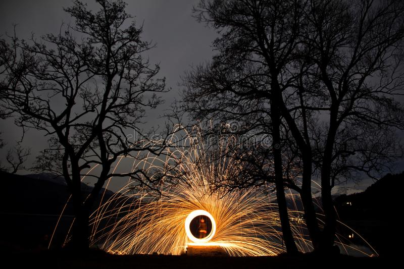 Ring Of Fire arkivbild