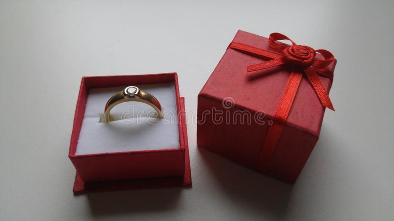 Ring Gold Diamond Nice Beautiful imagem de stock royalty free