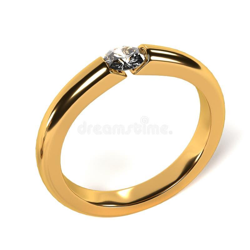 Ring (juweel) royalty-vrije illustratie