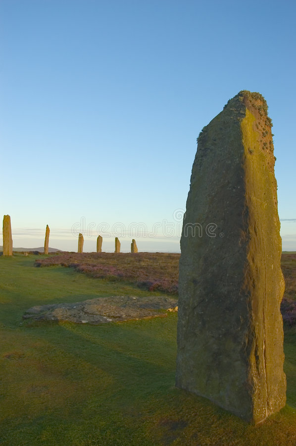 Free Ring Of Brodgar, Orkneys, Scotland Stock Photo - 555120