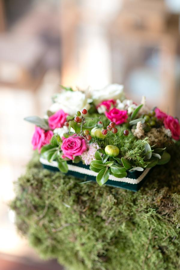 Ring Pad. Table Setting. Wedding Decor In The Magic Forest For A ...