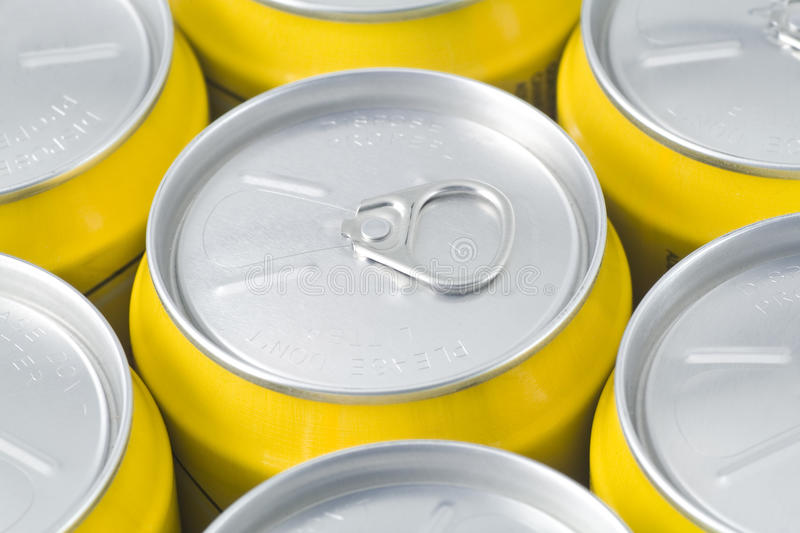 Ring-pull Cans Royalty Free Stock Image