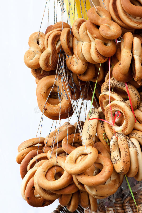 Download Ring-shaped bread stock image. Image of poppy, baked - 23803831
