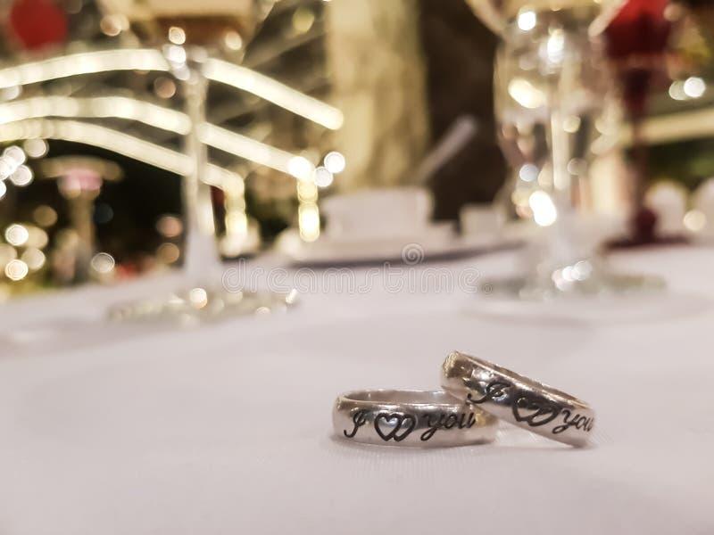 Ring van liefde royalty-vrije stock fotografie