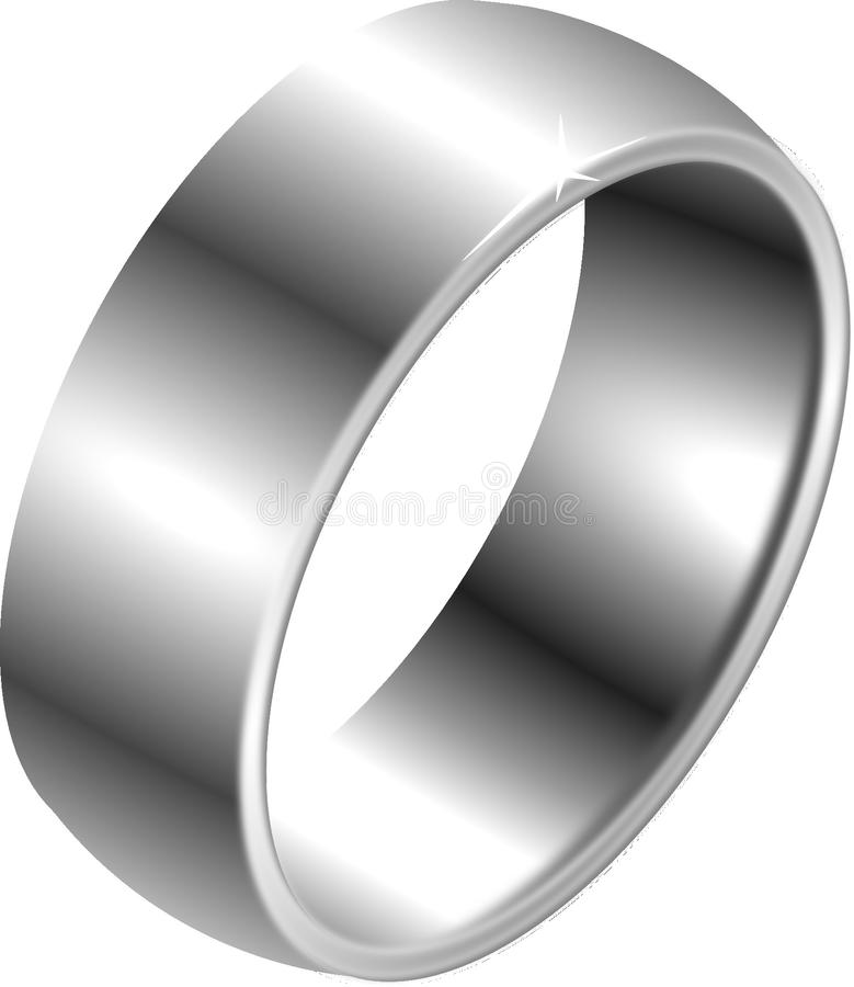 Ring, Wedding Ring, Platinum, Silver royalty free stock image