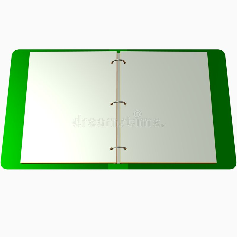 Ringbinder illustrazione di stock
