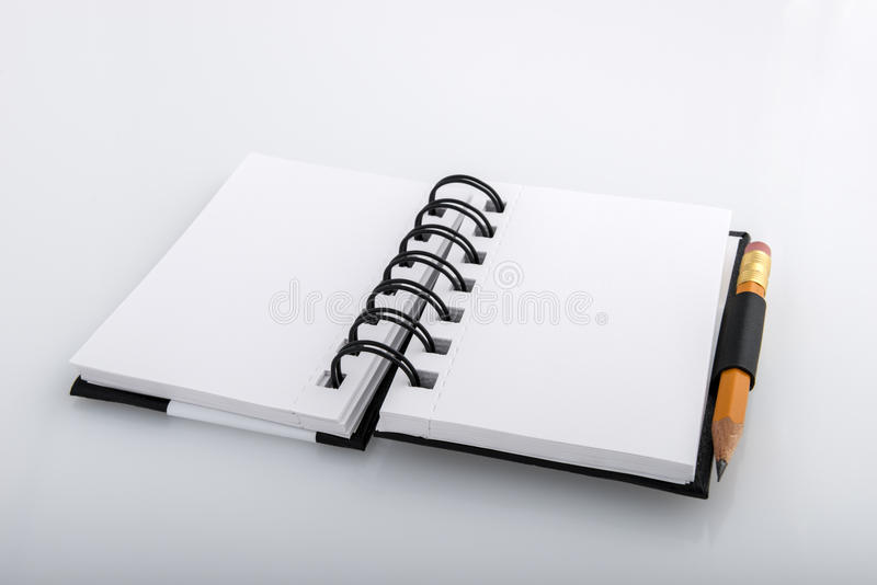 Ringed notepad royalty free stock photography