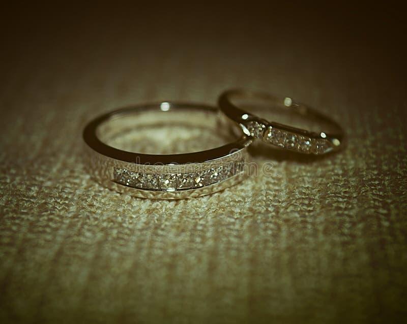 Ringen huwelijk-Matromonial royalty-vrije stock fotografie
