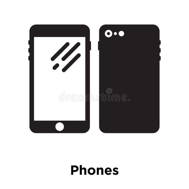 Ringer symbolsvektorn som isoleras på vit bakgrund, logobegrepp av royaltyfri illustrationer