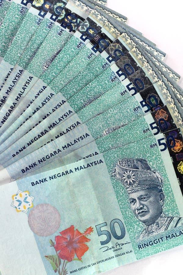 Ringgit della Malesia fotografia stock