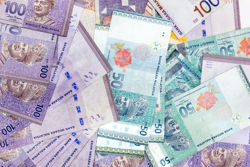 Ringgit l'unità monetaria di base della Malesia fotografie stock