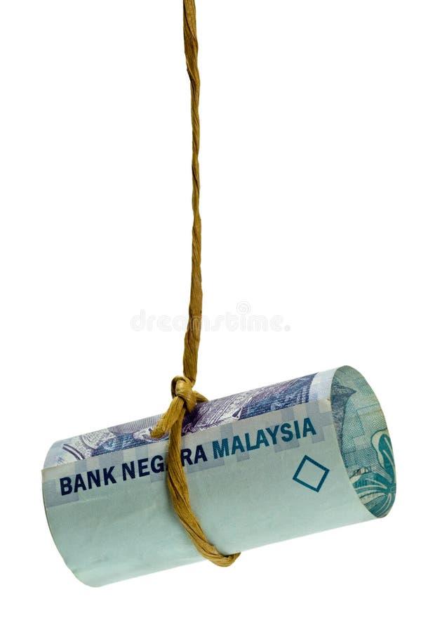 Ringgit malaisien balançant photographie stock