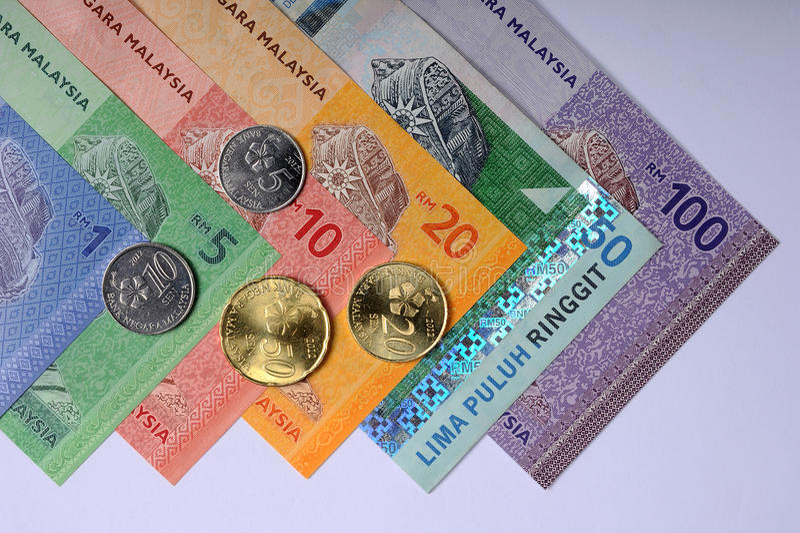 Ringgit Malaysia stock photo