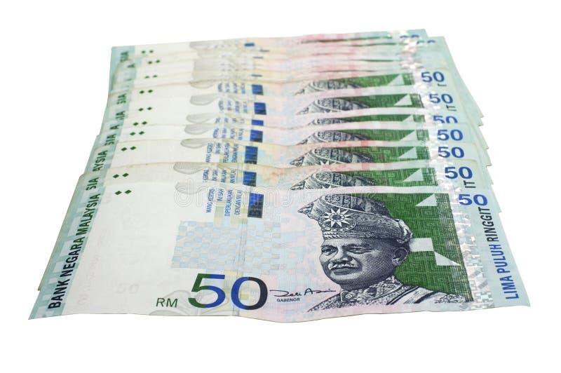 Ringgit malese immagine stock libera da diritti