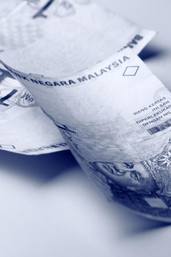 Ringgit malesi fotografia stock libera da diritti