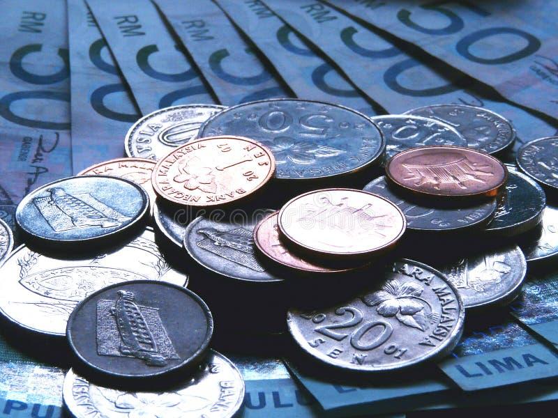 Ringgit munt royalty-vrije stock afbeeldingen