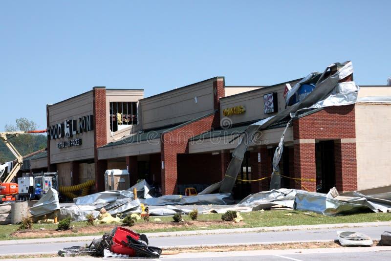 Ringgold Georgia Tornado Damage