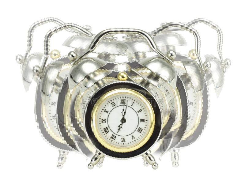 Download Ringing Alarm clock stock image. Image of front, numbers - 22321821