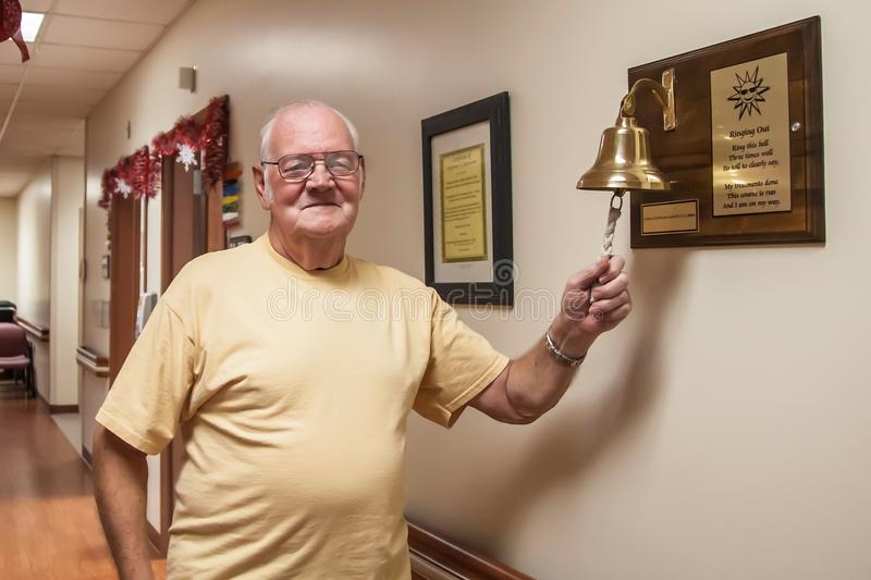 Ringing The Bell Royalty Free Stock Photo