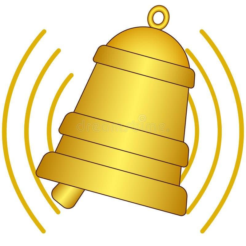 Ringing bell stock illustration