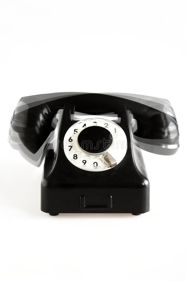 Download Ringing Old-fashioned Phone Stock Image - Image: 1077611