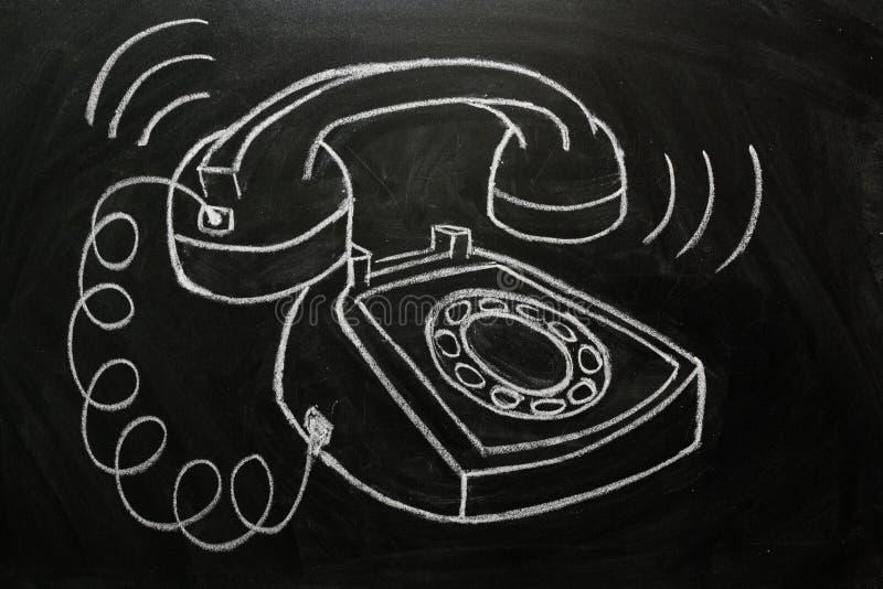 Ringing Telephone vector illustration