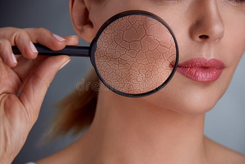 Ringiovanimento e skincare fotografia stock