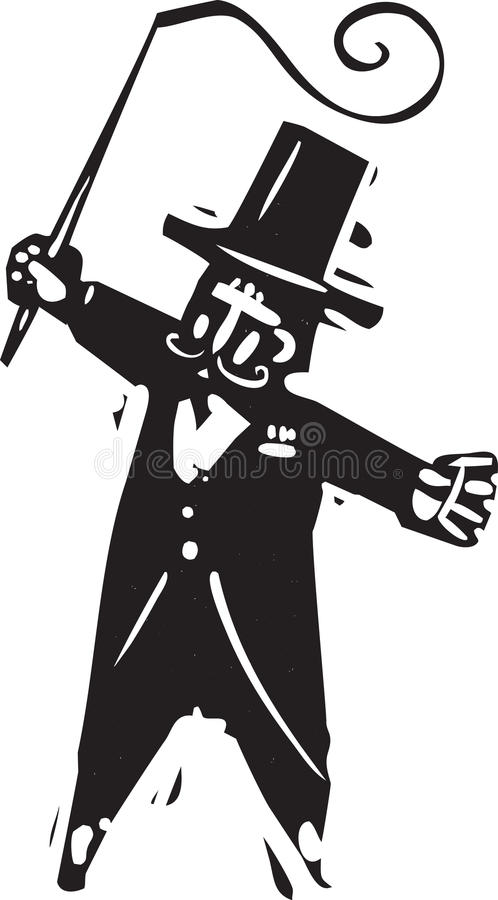 ringmaster vector illustratie