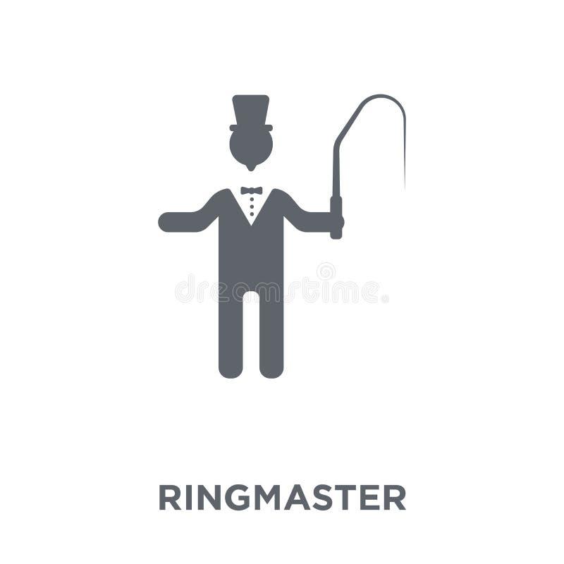 ringmaster ikona od Cyrkowej kolekcji ilustracja wektor